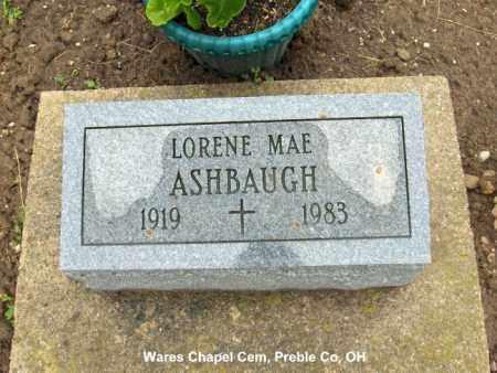 DUKE ASHBAUGH, LORENE - Preble County, Ohio | LORENE DUKE ASHBAUGH - Ohio Gravestone Photos