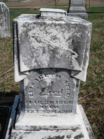 ATEN, ELIZABETH - Preble County, Ohio | ELIZABETH ATEN - Ohio Gravestone Photos