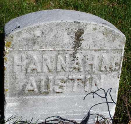 AUSTIN, HANNAH M. - Preble County, Ohio | HANNAH M. AUSTIN - Ohio Gravestone Photos