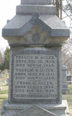 AUTER, CHARLIE V. - Preble County, Ohio | CHARLIE V. AUTER - Ohio Gravestone Photos
