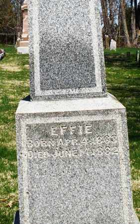 AYERS, EFFIE - Preble County, Ohio | EFFIE AYERS - Ohio Gravestone Photos