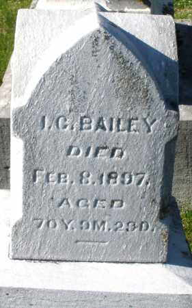 BAILEY, I.C. - Preble County, Ohio | I.C. BAILEY - Ohio Gravestone Photos