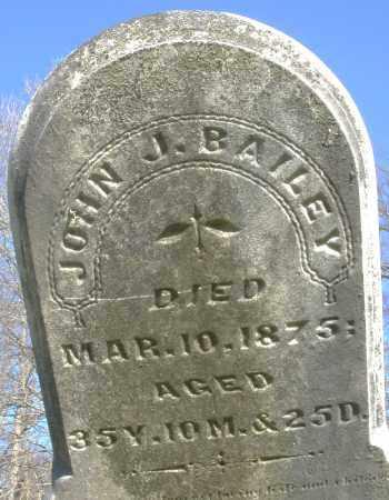 BAILEY, JOHN J. - Preble County, Ohio | JOHN J. BAILEY - Ohio Gravestone Photos