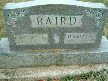 BAIRD, HERBERT - Preble County, Ohio | HERBERT BAIRD - Ohio Gravestone Photos