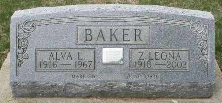 BAKER, Z. LEONA - Preble County, Ohio | Z. LEONA BAKER - Ohio Gravestone Photos