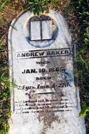 BAKER, ANDREW - Preble County, Ohio | ANDREW BAKER - Ohio Gravestone Photos
