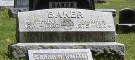 BAKER, GEORGE E. - Preble County, Ohio | GEORGE E. BAKER - Ohio Gravestone Photos