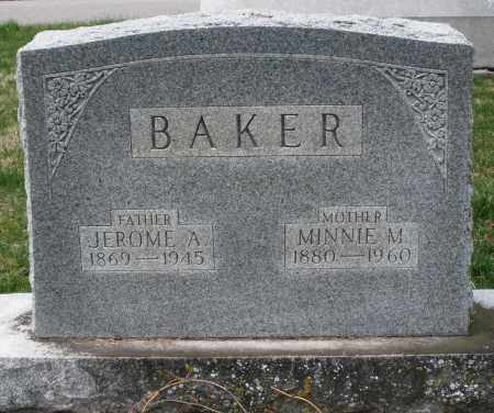 BAKER, MINNIE M. - Preble County, Ohio | MINNIE M. BAKER - Ohio Gravestone Photos