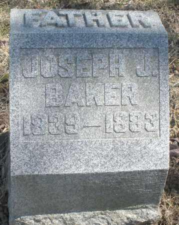 BAKER, JOSEPH J. - Preble County, Ohio | JOSEPH J. BAKER - Ohio Gravestone Photos