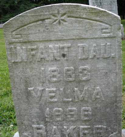 BAKER, VELMA - Preble County, Ohio | VELMA BAKER - Ohio Gravestone Photos
