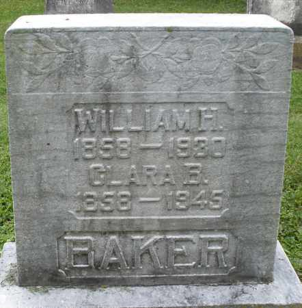 BAKER, WILLIAM H. - Preble County, Ohio | WILLIAM H. BAKER - Ohio Gravestone Photos