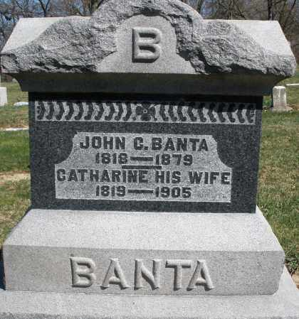 BANTA, CATHARINE - Preble County, Ohio | CATHARINE BANTA - Ohio Gravestone Photos