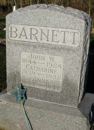 BARNETT, CATHARINE - Preble County, Ohio | CATHARINE BARNETT - Ohio Gravestone Photos