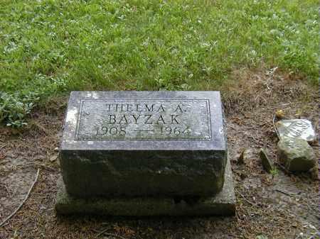 BAYZAK, THELMA A. - Preble County, Ohio | THELMA A. BAYZAK - Ohio Gravestone Photos