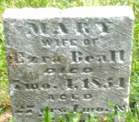 BEALL, MARY - Preble County, Ohio | MARY BEALL - Ohio Gravestone Photos