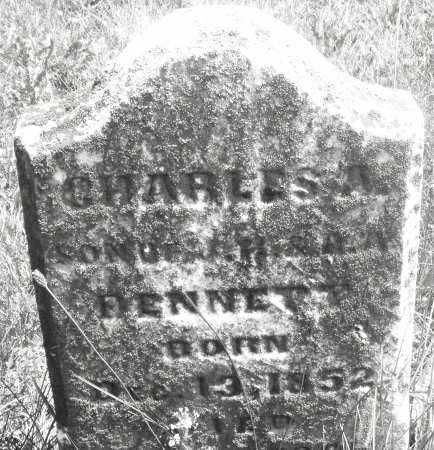 BENNETT, CHARLES A. - Preble County, Ohio | CHARLES A. BENNETT - Ohio Gravestone Photos