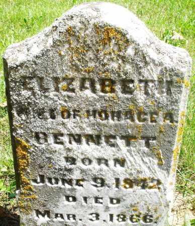BENNETT, ELIZABETH - Preble County, Ohio | ELIZABETH BENNETT - Ohio Gravestone Photos