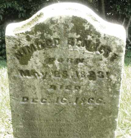 BENNETT, NIMROD - Preble County, Ohio | NIMROD BENNETT - Ohio Gravestone Photos