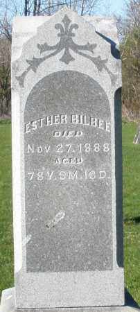 BILBEE, ESTHER - Preble County, Ohio | ESTHER BILBEE - Ohio Gravestone Photos