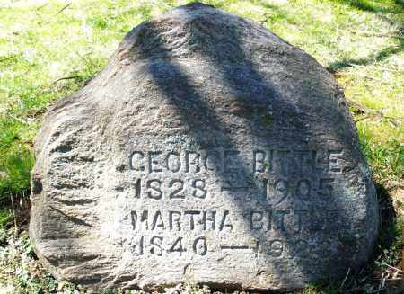 BITTLE, MARTHA - Preble County, Ohio | MARTHA BITTLE - Ohio Gravestone Photos