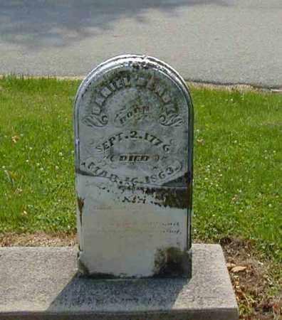 BLACK, DANIEL - Preble County, Ohio | DANIEL BLACK - Ohio Gravestone Photos