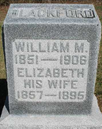 BLACKFORD, ELIZABETH - Preble County, Ohio | ELIZABETH BLACKFORD - Ohio Gravestone Photos
