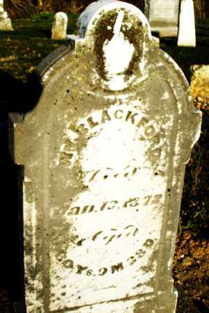 BLACKFORD, WILLIAM - Preble County, Ohio | WILLIAM BLACKFORD - Ohio Gravestone Photos