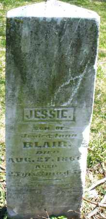 BLAIR, JESSIE - Preble County, Ohio | JESSIE BLAIR - Ohio Gravestone Photos