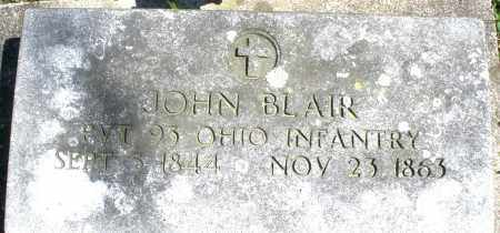 BLAIR, JOHN - Preble County, Ohio | JOHN BLAIR - Ohio Gravestone Photos