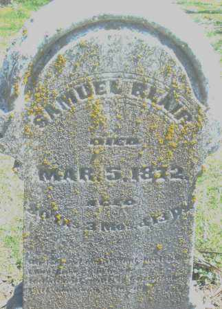 BLAIR, SAMUEL - Preble County, Ohio | SAMUEL BLAIR - Ohio Gravestone Photos