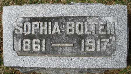BOLTEN, SOPHIA - Preble County, Ohio | SOPHIA BOLTEN - Ohio Gravestone Photos