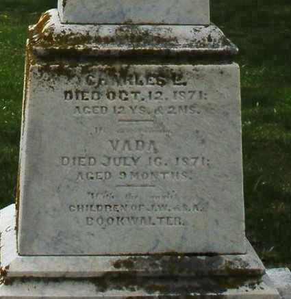 BOOKWALTER, VADA - Preble County, Ohio | VADA BOOKWALTER - Ohio Gravestone Photos