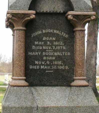 BOOKWALTER, MARY - Preble County, Ohio | MARY BOOKWALTER - Ohio Gravestone Photos