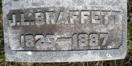 BRAFFETT, J.L. - Preble County, Ohio | J.L. BRAFFETT - Ohio Gravestone Photos