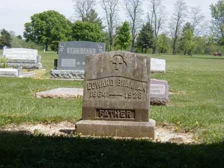 BRANNAN, EDWARD - Preble County, Ohio | EDWARD BRANNAN - Ohio Gravestone Photos