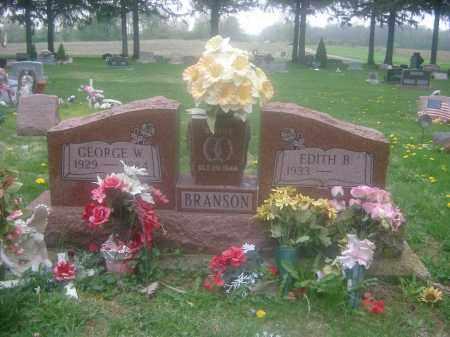 BRANSON, GEORGE - Preble County, Ohio | GEORGE BRANSON - Ohio Gravestone Photos