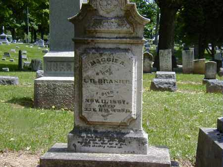 BRASIER, MAGGIE A. - Preble County, Ohio | MAGGIE A. BRASIER - Ohio Gravestone Photos