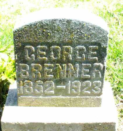 BRENNER, GEORGE - Preble County, Ohio | GEORGE BRENNER - Ohio Gravestone Photos
