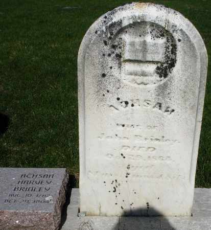 BRINLEY, ACHSAH - Preble County, Ohio | ACHSAH BRINLEY - Ohio Gravestone Photos