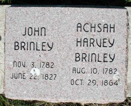 BRINLEY, ACHSAH HARVEY - Preble County, Ohio | ACHSAH HARVEY BRINLEY - Ohio Gravestone Photos