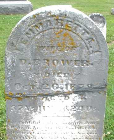 BROWER, EMMARETT A. - Preble County, Ohio | EMMARETT A. BROWER - Ohio Gravestone Photos