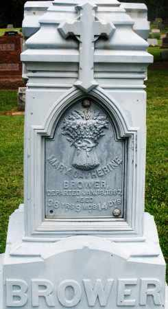BROWER, MARY CATHERINE - Preble County, Ohio | MARY CATHERINE BROWER - Ohio Gravestone Photos