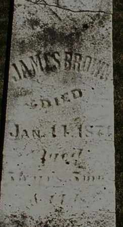 BROWN, JAMES - Preble County, Ohio | JAMES BROWN - Ohio Gravestone Photos