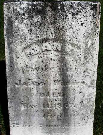 BROWN, JANE - Preble County, Ohio | JANE BROWN - Ohio Gravestone Photos