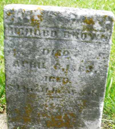 BROWN, RICHARD - Preble County, Ohio | RICHARD BROWN - Ohio Gravestone Photos