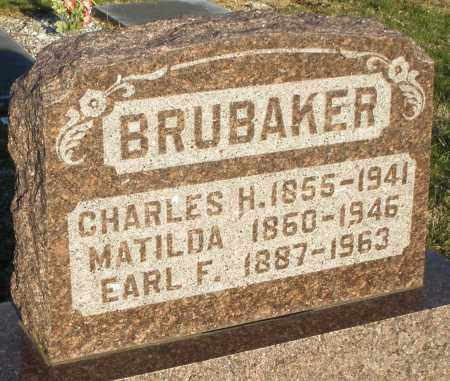 BRUBAKER, MATILDA - Preble County, Ohio | MATILDA BRUBAKER - Ohio Gravestone Photos