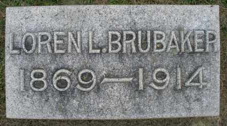 BRUBAKER, LOREN L. - Preble County, Ohio | LOREN L. BRUBAKER - Ohio Gravestone Photos