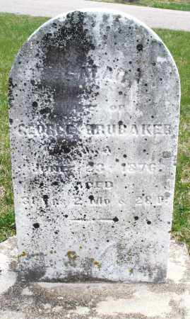 BRUBAKER, SARAH - Preble County, Ohio | SARAH BRUBAKER - Ohio Gravestone Photos