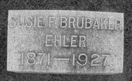 BRUBAKER, SUSIE F. - Preble County, Ohio | SUSIE F. BRUBAKER - Ohio Gravestone Photos