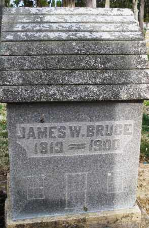 BRUCE, JAMES W. - Preble County, Ohio | JAMES W. BRUCE - Ohio Gravestone Photos